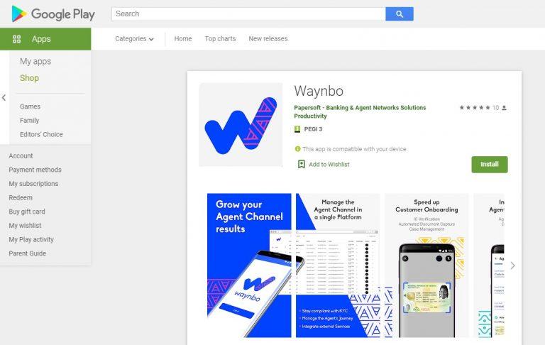 Waynbo Google Play Profile