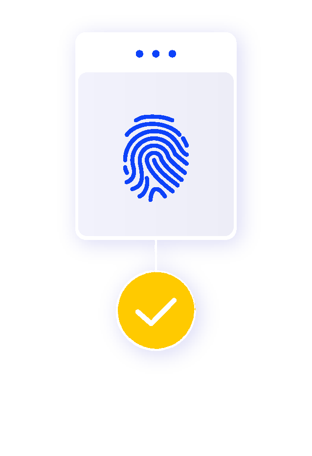 Anti-fraud biometrics